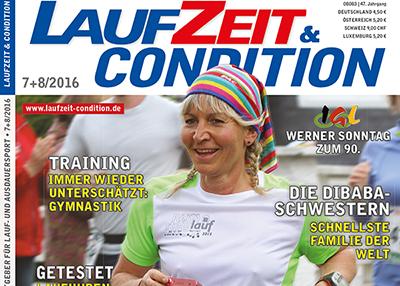 Titelbild LAUFZEIT&CONDITION 7+8/2016