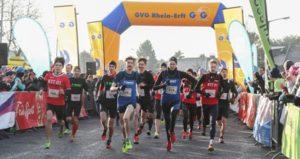 Start zum Staffelmarathon 2017 in Pulheim