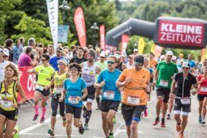 Kärnten Läuft 2017 - Start Kleine Zeitung Wörthersee Halbmarathon - Velden August 2017