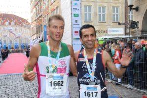 Maciek Miereczko (VFB Erftstadt) und Elisas Sansar (LG Detmold) waren die schnellsten Deutschen in Münster