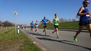 Moorweder Hauptdeich (Halbmarathon)