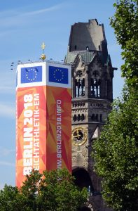 LA EM Berlin 2018, Breitscheidplatz